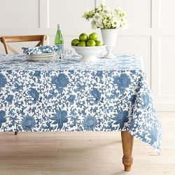 Tablecloths, Round Tablecloths & Table Pads | Williams-Sonoma