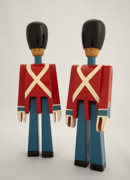 "1942. Kay Bojesen. Danish Royal Guards. 9""h"