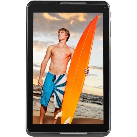 """NuVision 8"""" Tablet 16GB Intel Atom Z3735G Quad-Core Processor Android 4.4…"""