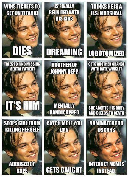Bad luck Leo.: Ultimate Spider-Man, Badluck, Luck Leo, Funny Stuff, Even, Leonardo Dicaprio, Poor Leo, Poorleo, Bad Luck