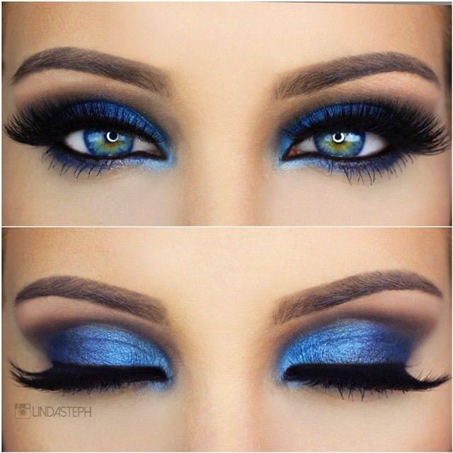 Blue Smokey Eye - Magnet Look