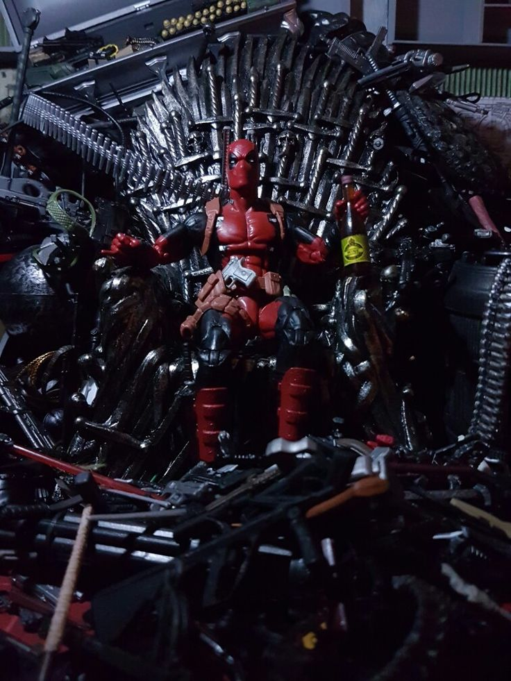 Deadpool, The King of the Ironthrone