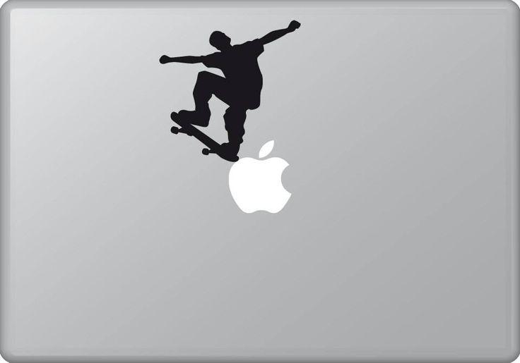 Skater 2 | MacBook sticker | #pasteit #sticker #stickers #macbook #apple #blackandwhite #art #drawing #custom #customize #diy #decoration #illustration #design #sport #sports #extremesport #extremesports #freestyle #freestyler #skate #skateboard #skater