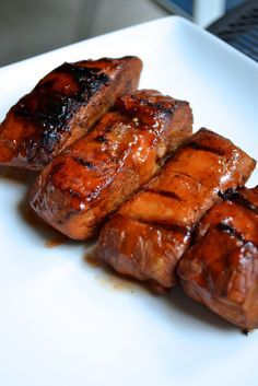 Country Style BBQ Pork Ribs - baked in a Dutch oven and finished on the grill