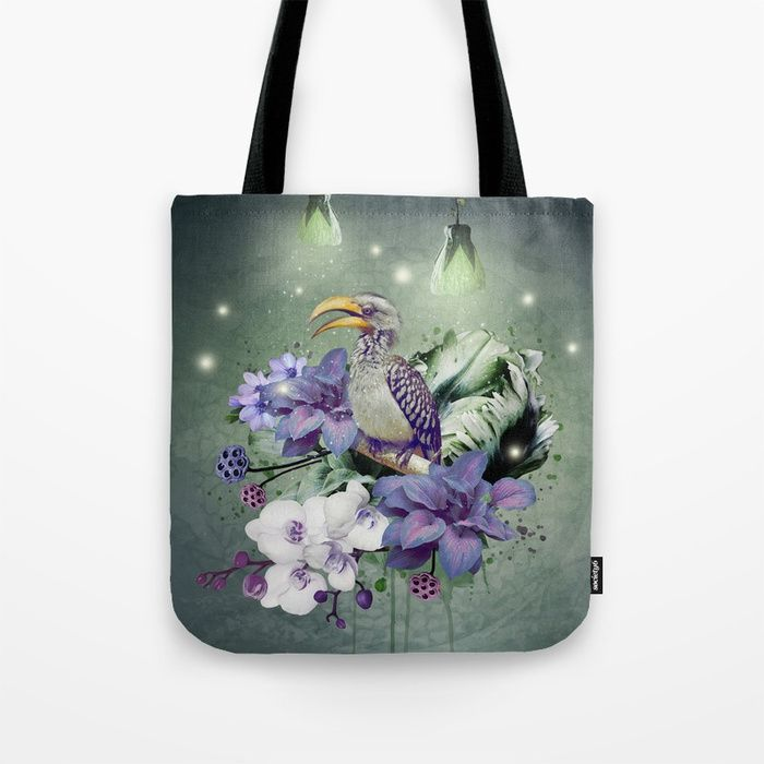 Tote Bag - Exotic Hummingbird by VIDA VIDA Low Cost Online How Much Sale Online For Nice Online 2018 Super Specials uTE2oD