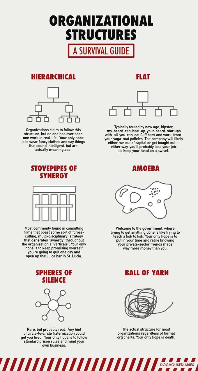 estructura de organizaciones