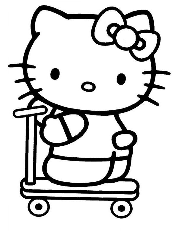 Hello Kitty Hello Kitty Colouring Pages Hello Kitty Printables