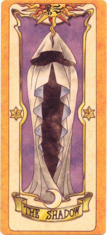 This is The Shadow Clow Card from the Card Captor Sakura anime and manga series by CLAMP