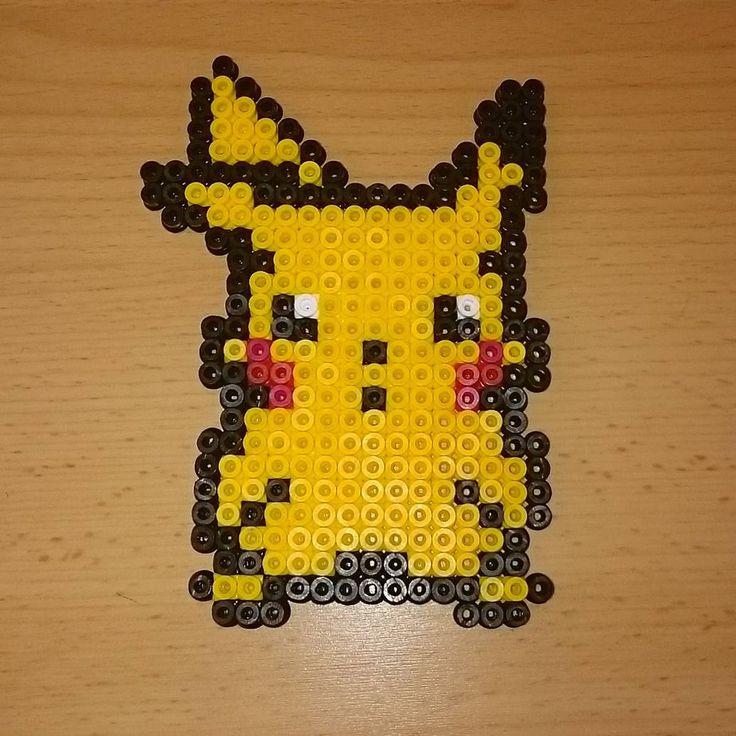 15 Best Hama Pikachu Perler Beads Images On Pinterest