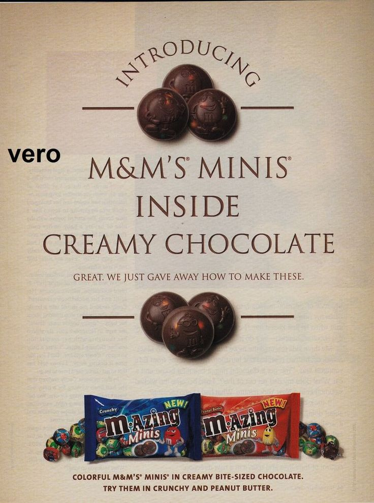 117 best images about magazine ad advertisements ads M&M's ...