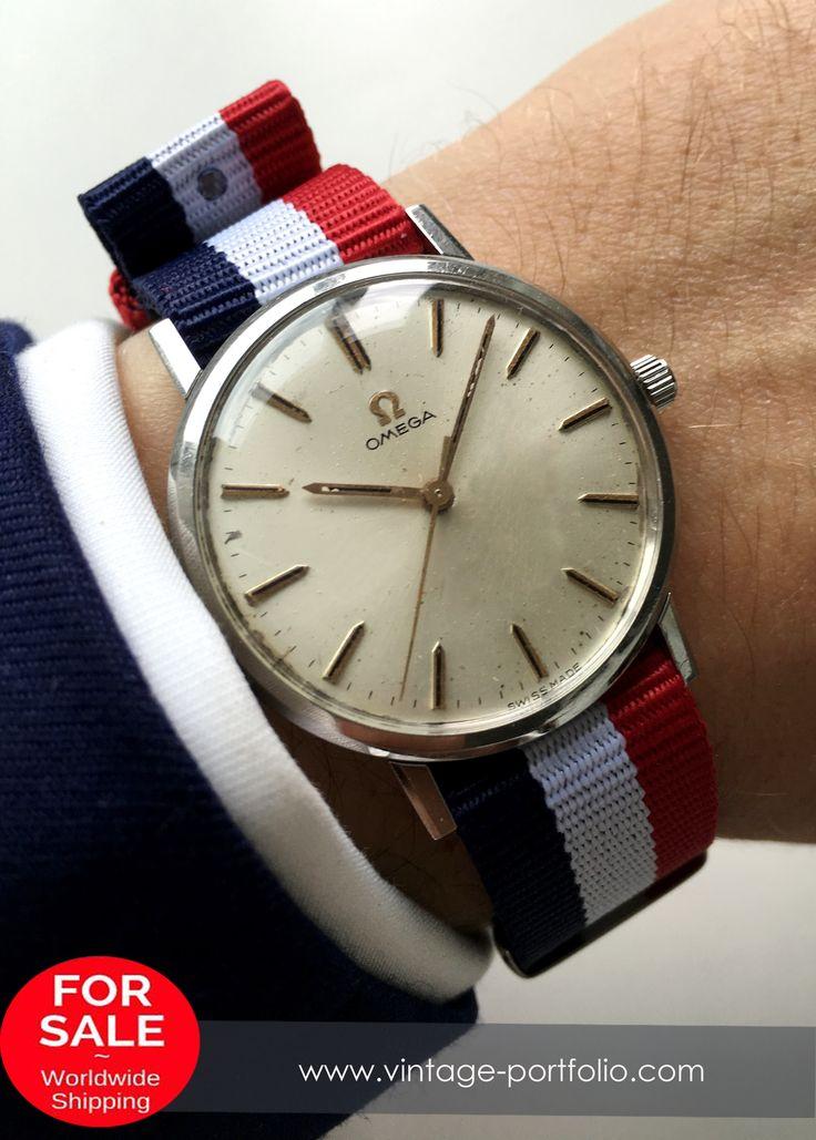 1966 Omega Handwinding Watch with Nato Strap Ladies Ladys Unisex #omega …