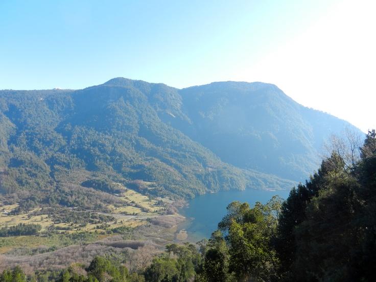 Lago Calafquen, Coñaripe, Chile.