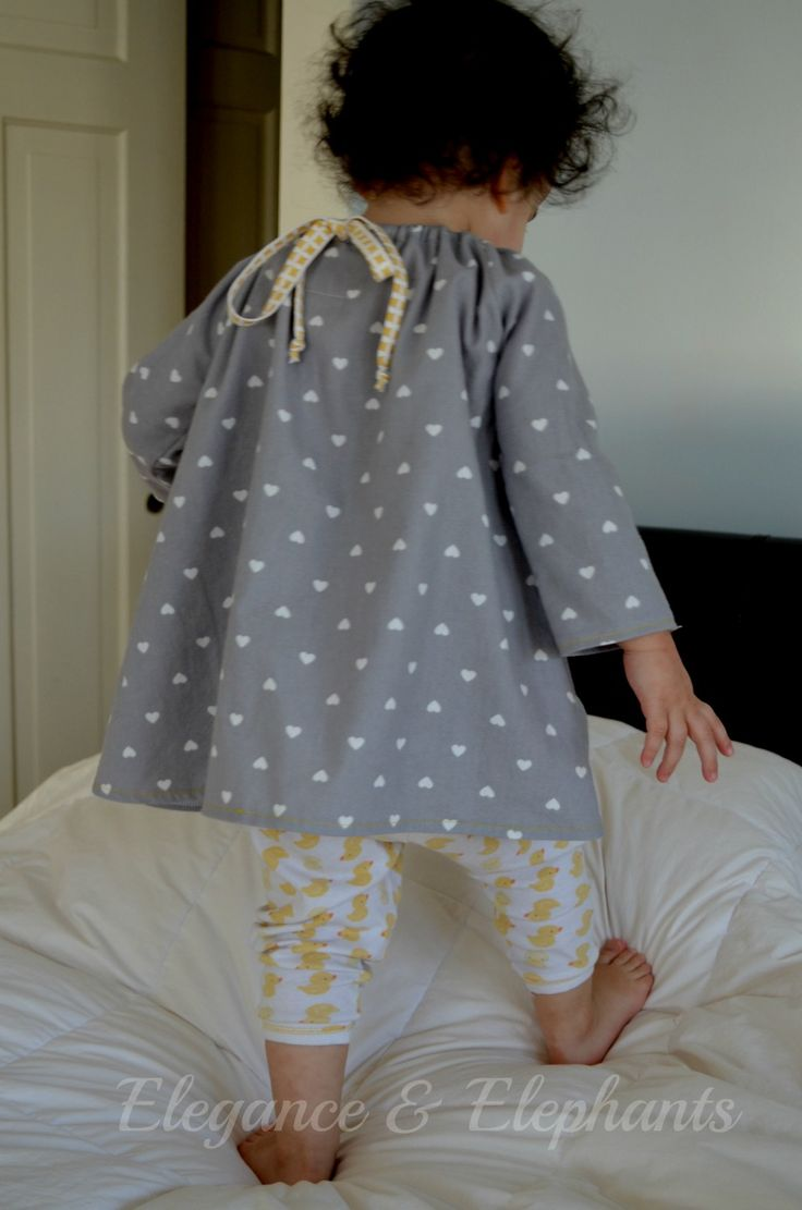 I love an easy project and this one was created out of necessity since all the pjs Anja got for Christmas were too big for her to w...