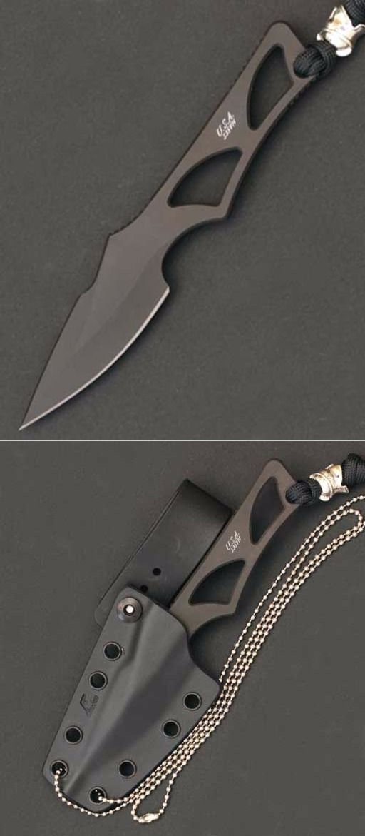 Spartan Enyo Fixed Blade Fighting Neck Knife Kydex Sheath @thistookmymoney