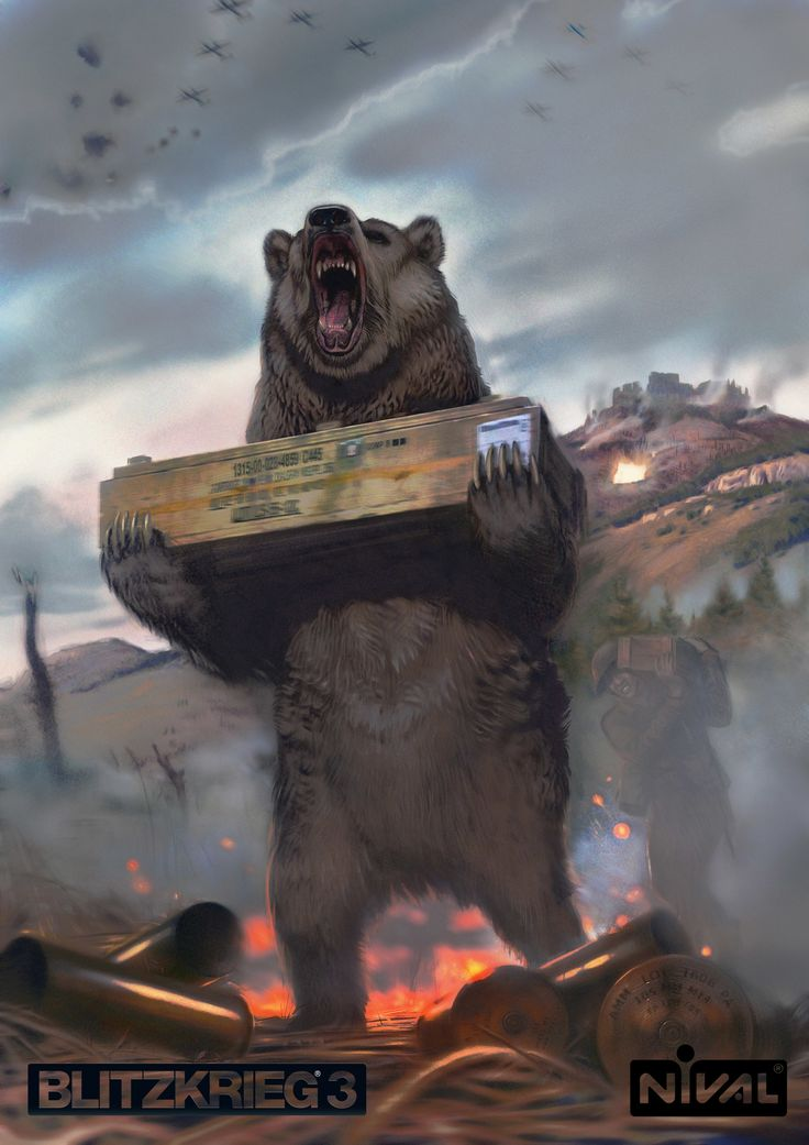 ArtStation - Wojtek (bear), Grigory Gonkov