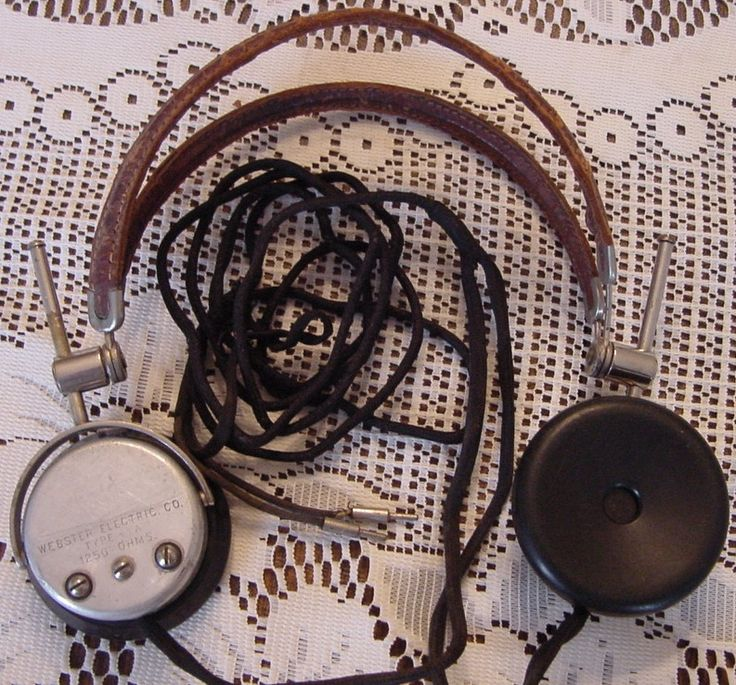 Antique Vintage Headphones For Sale