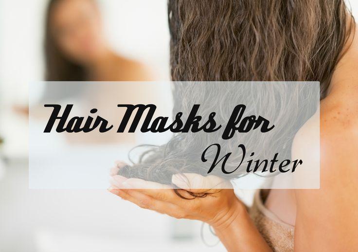 cool Hausgemachte Haarmasken für den Winter