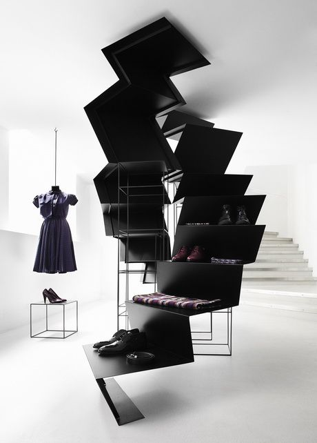 Modernist / Contemporary black staircases. Use your imagination.  #inspiration #rassphome