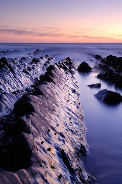 Love living in this part of the world! - Dusk at Welcombe Mouth, Devon, England