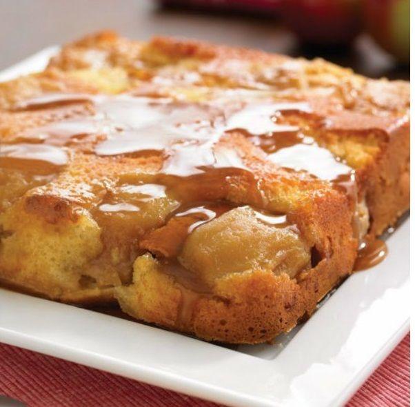 Gâteau Renversé Vanillé aux Pommes