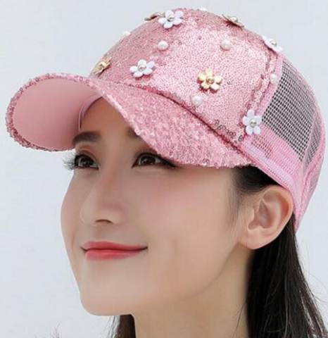 sports caps for dogs unique sequin flower baseball cap teenage girls adjustable trucker women baby boy