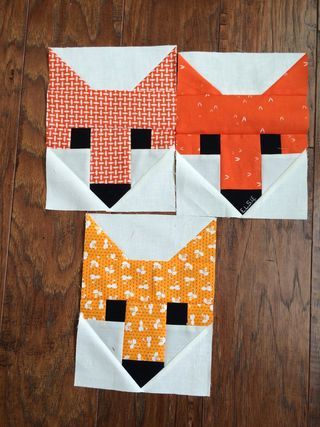 Fancy Fox Quilt | a quilt is nice | Bloglovin'