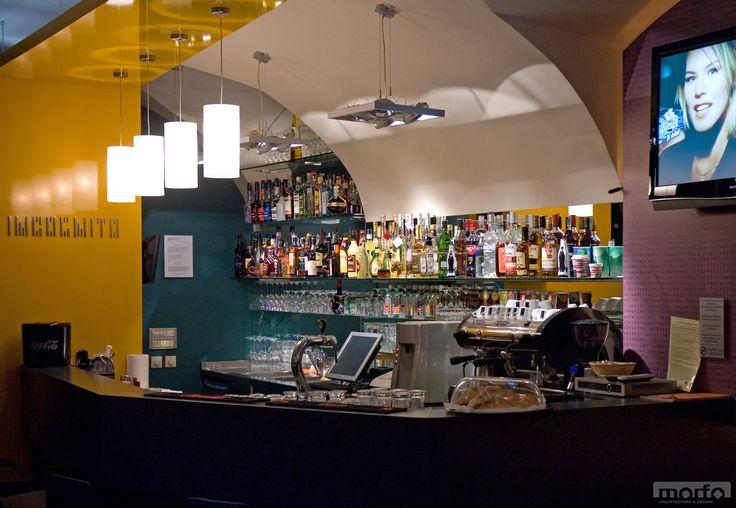 INCOGNITO café & bar , Szombathely, Hungary / interior design, 2009
