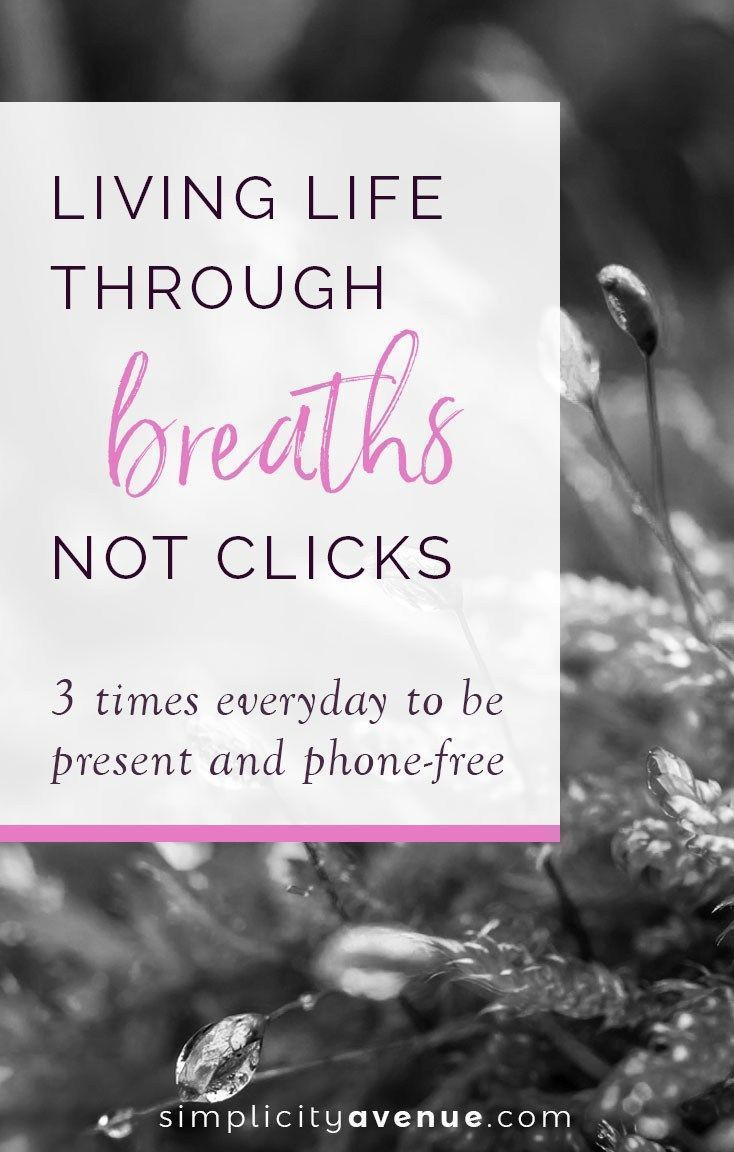 Free Talk On Mindfulness Practice For >> 3 Times Everyday To Be Present And Phone Free Family Simplify