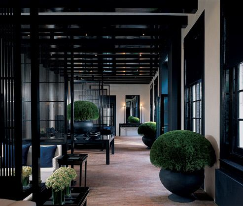 Hotel Blakes Amsterdam, design by Anouska Hempel
