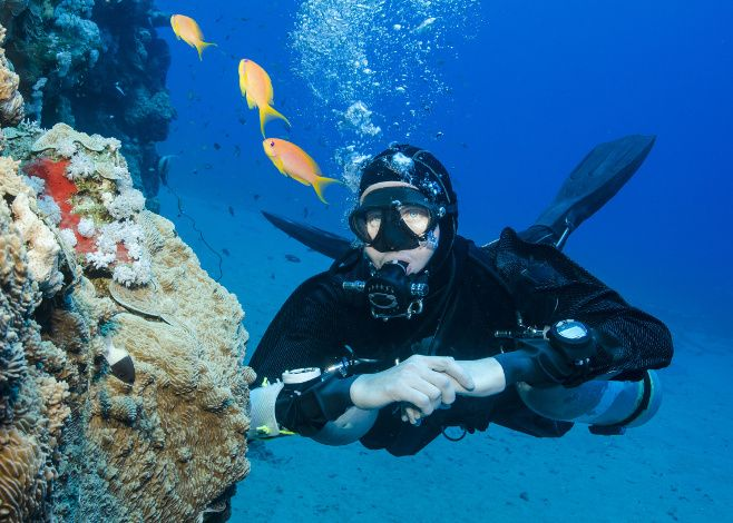Practicing your buoyancy is key to developing good dive skills: this collection of exercises will help you improve.