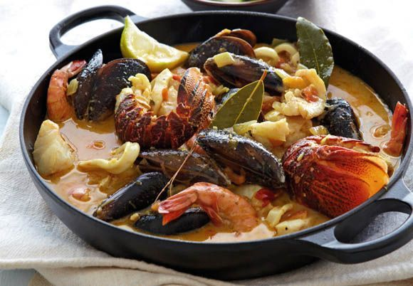 Bouillabaisse - The incredible seafood 'stew' from Marseille that is one of the glories of French cuisine.