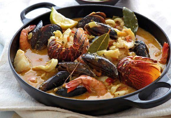 Fish Bouillabaisse Recipe | ... Magazine | Fish and Seafood | Morné du Plessis' Bouillabaisse