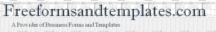 Freeformsandtemplates.com has an inventory of over 900 free printable and downloadable business forms, business templates and business letters