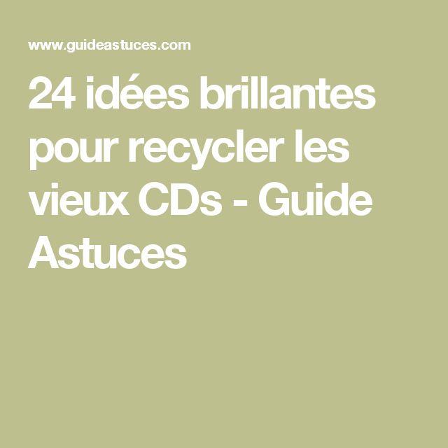 24 idées brillantes pour recycler les vieux CDs - Guide Astuces