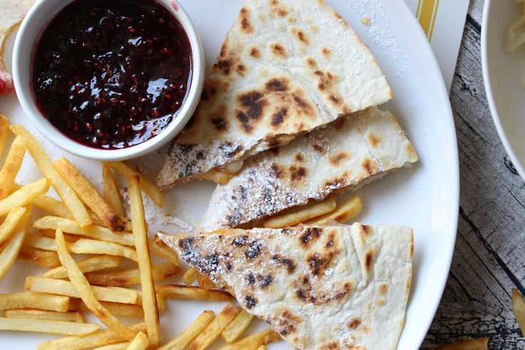 Monte Cristo Quesadillas Recipe — Dishmaps