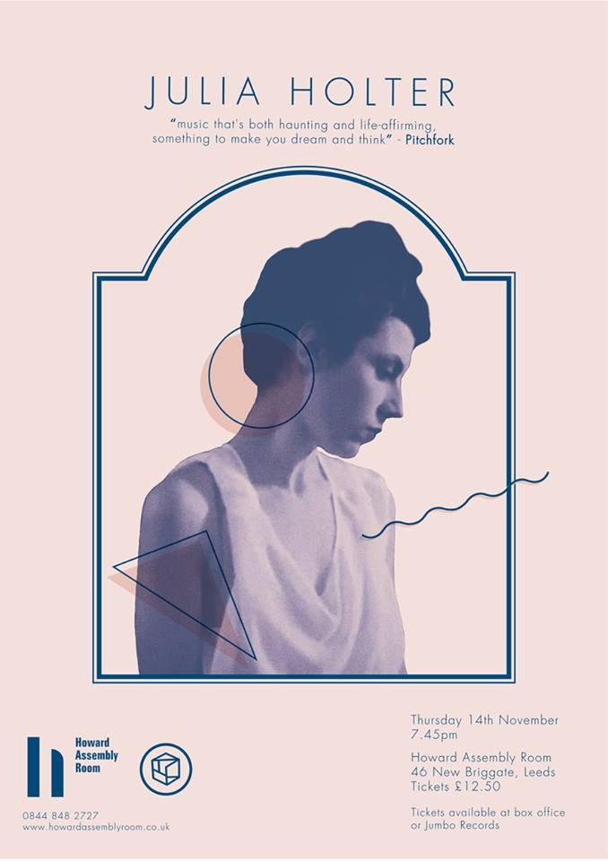 Poster | design for the upcoming Julia Holter show / by Anna Peaker