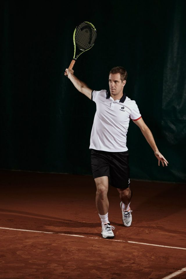 Richard Gasquet Roland Garros 2015 outfit