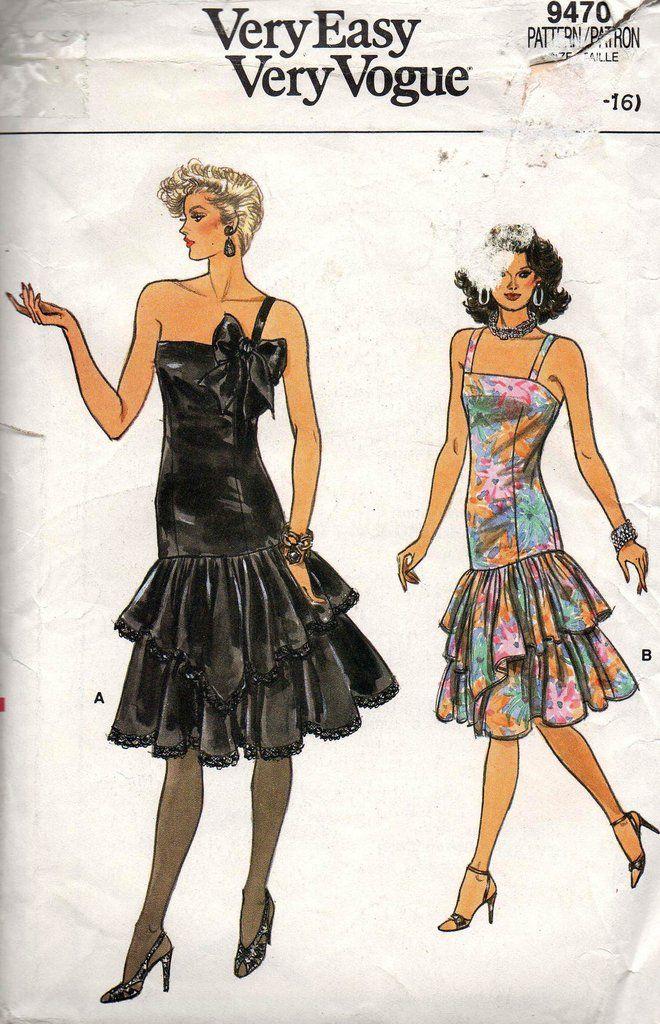 44 besten vogue patterns Bilder auf Pinterest | Vintage ...