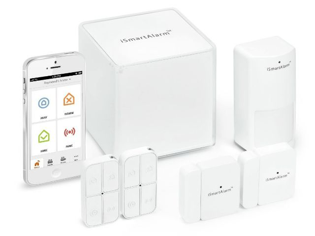 The iSmartAlarm Home Security System is a DIY, self-monitored, self-controlled home security system, no monthly fees, no contracts required. GetdatGadget.com/ismartalarm-affordable-home-security-system/