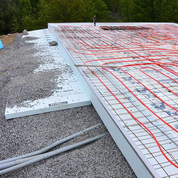 Insulating Concrete Slabs For Radiant Floor Heating Systems Floor Heating Systems Hydronic Radiant Floor Heating Radiant Floor Heating