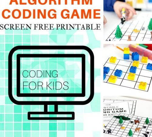 Algorithm Coding Game and Screen Free Computer Coding for Kids
