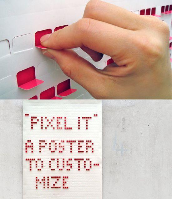 Sven Weber: analoge, interaktive Plakate