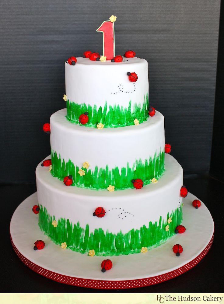 Ladybug Birthday Cakes St Birthdays