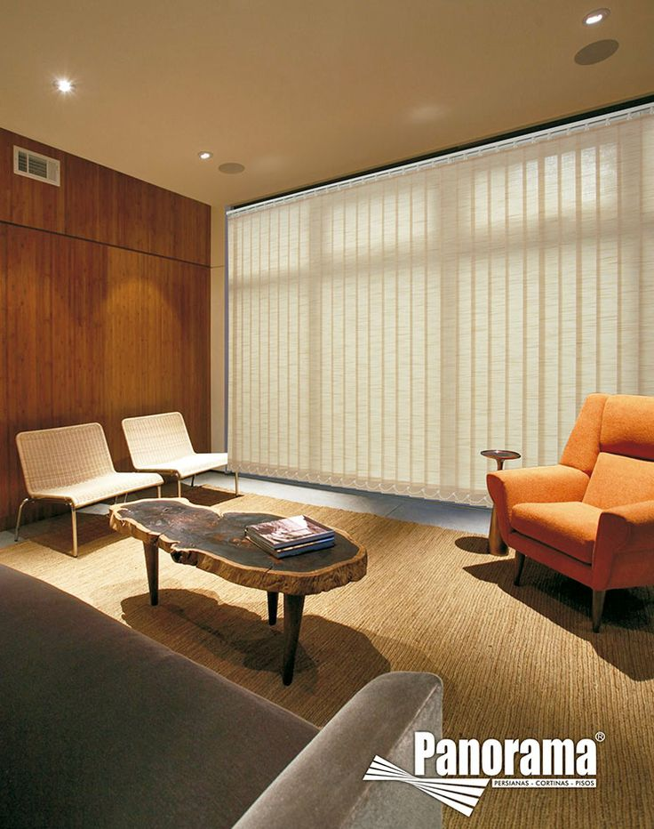las persianas verticales se constituyen como cortinas muy y se recomiendan como una alternativa with soluciones para ventanas sin persianas
