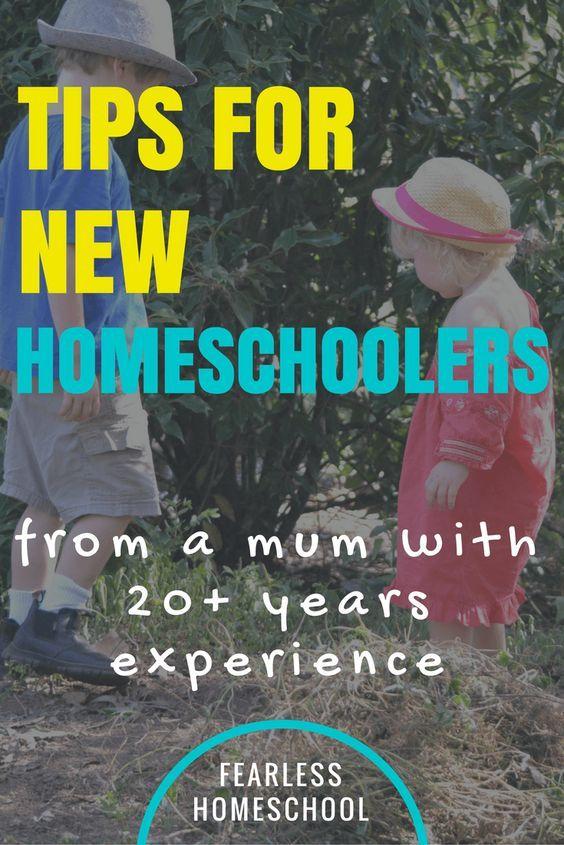 Tips for beginning homeschoolers from an experienced homeschooler-Fearless Homeschool