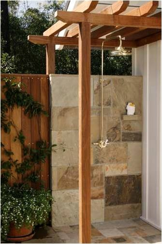 outdoor shower...i will have this