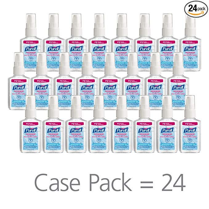 40 24 Purell Advanced Hand Sanitizer Refreshing Gel 2 Fl Oz