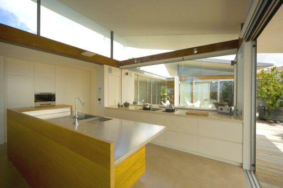 skillion roof kitchen pavillion.