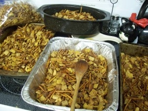 Chex mix. With BACON grease. | chex mixes | Pinterest | Chex Mix ...