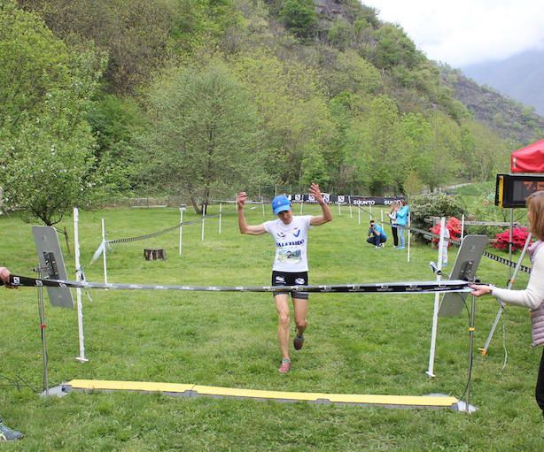 Orna Trail 2016, Emanuela Brizio. Fonte: press evento